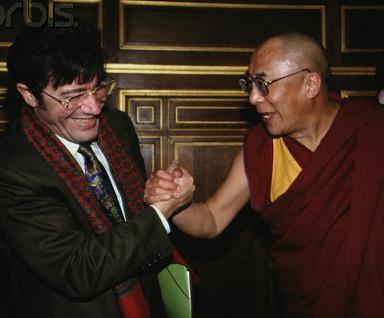 Matoub med Dalaï Lama