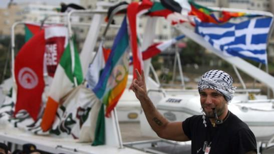 Den Italienske fredsaktivisten Vittorio Arrigoni, før.