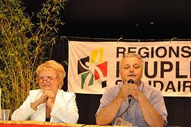 Eva Joly og Francois Alfonsi