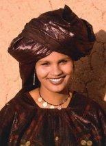 tuareg kvinne