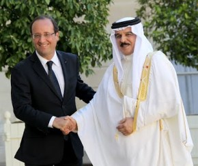 François Hollande Emir of Qatar