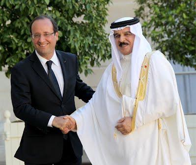 François Hollande Emir of Qatar