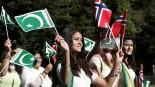 utenlandske flagg i 17. mai feiringen