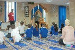 skole barn i moskeen