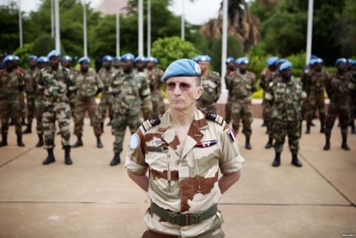 De såkalte internasjonale Minusma (FN) styrker er i hovedsak sammensatt av maliser og franskmenn'