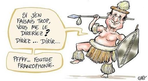 For å forsvare sin politikk mer enn noen gang kolonialistisk , fortsetter François Hollander å kunngjøre dødsfallet av Françafrique, parallelldiplomati ledet av nettverk av innflytelse og korrupte mafia-baserte diktatorer nøye utvalgte av det franske utenriksdepartementet