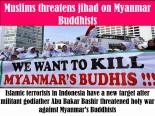 IndonesianMuslims-Kill BurmeseBuddhists2