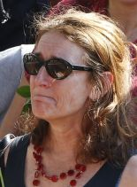 Françoise Grandclaude, the partner of Hervé Gourdel (PH /DR)