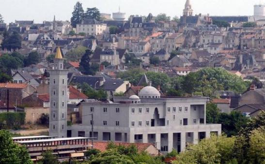 Moske i-poitiers-, byen til den mytiske Charles Martel