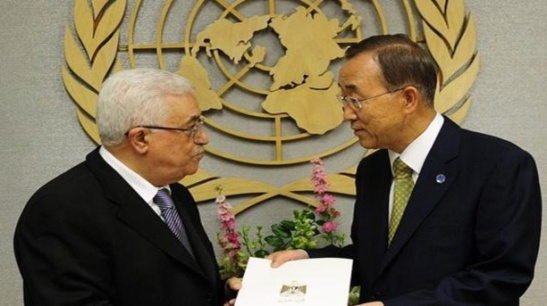 Ban Ki-moon received the official request of the head of the Palestinian Authority, Mahmoud Abbas, to provide his country observer status (PH / The world)