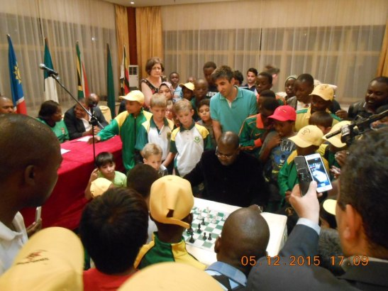 The African Youth Chess Championship 2015