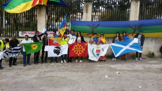 Kabylia solidarity with the peoples in struggle