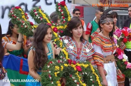 Kabyle dress day vs hijab day