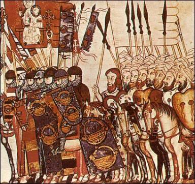 alliance between Christians and Muslims in the 7th century