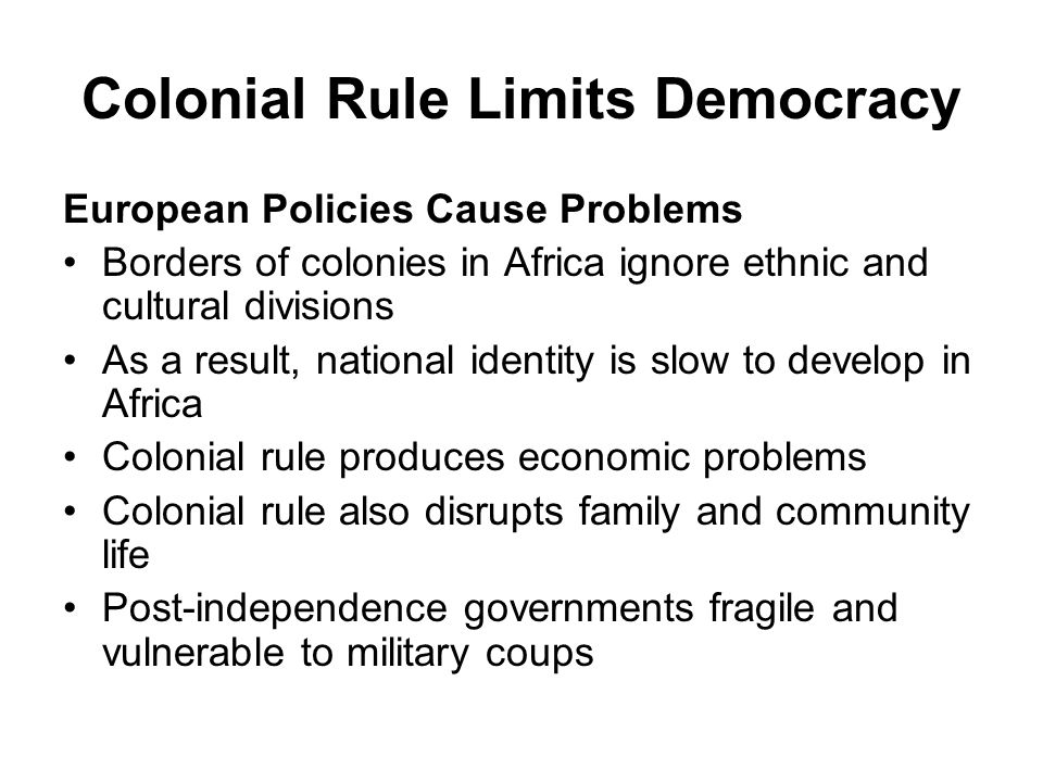 the factors that contributed to the emergence of democracy in colonial america What factors fostered or hindered the growth of the british atlantic colonies (that later became the united states of america) from 1690 to 1763 how did the european colonists respond to the growing diversity among them—by religion, ethnicity, economic status, and country of origin.