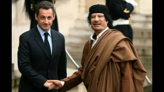 Gaddafi, the good friend of the West