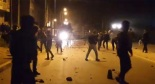 clashes between young rifains and Moroccan police and military. clashes