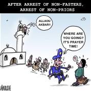 pray_arrest